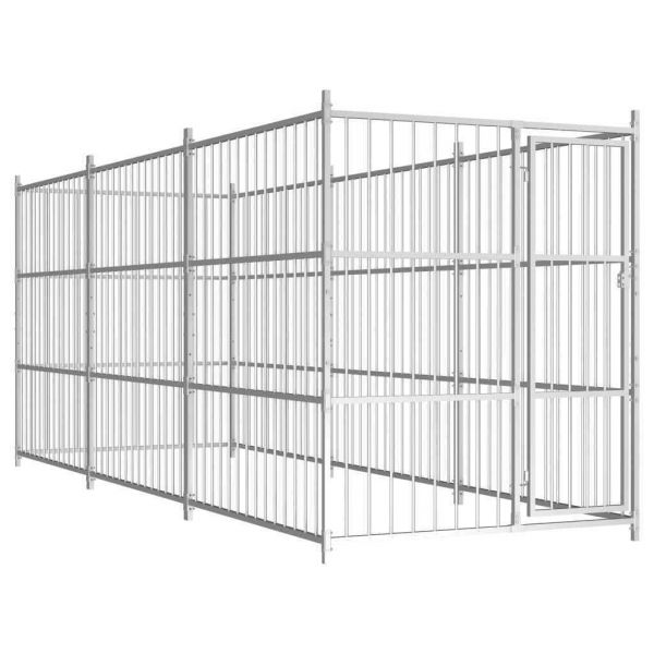Hundezwinger Hundehaus 4,5 x 1,5 m