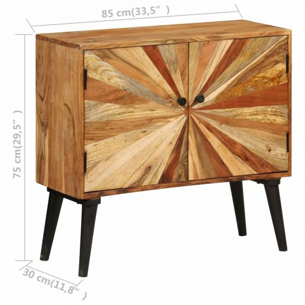 Schöne Tamworth Sideboard Mangoholz Massiv 85x30x75 cm