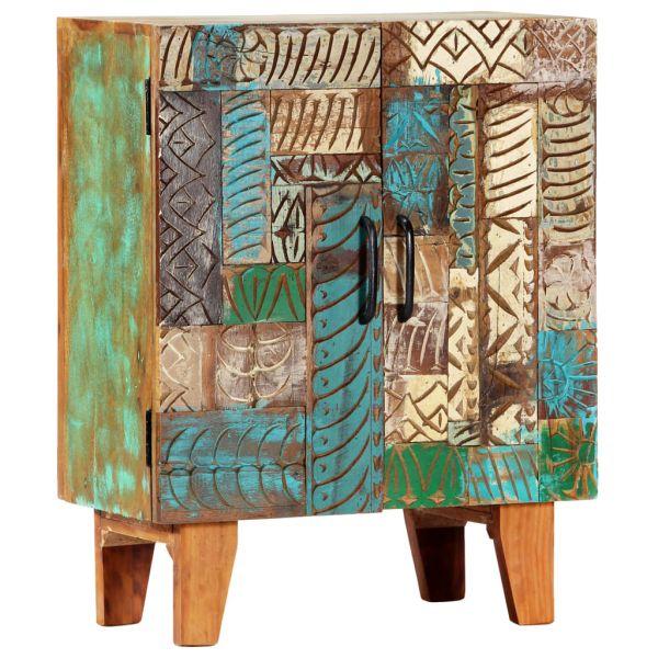 wundervolle Purley Sideboard Handgeschnitzt 60 x 30 x 75 cm Recyceltes Massivholz