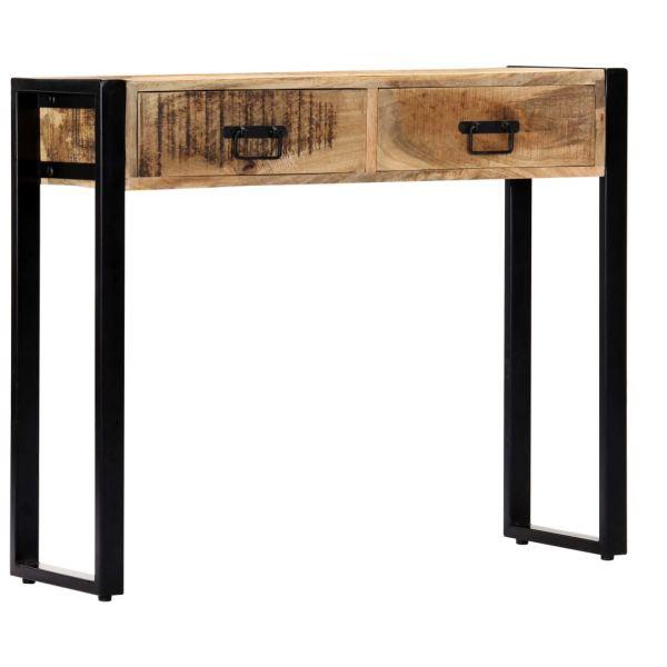 wunderschöne Konsolentisch 90 x 30 x 75 cm Massivholz Mango Kristiansund