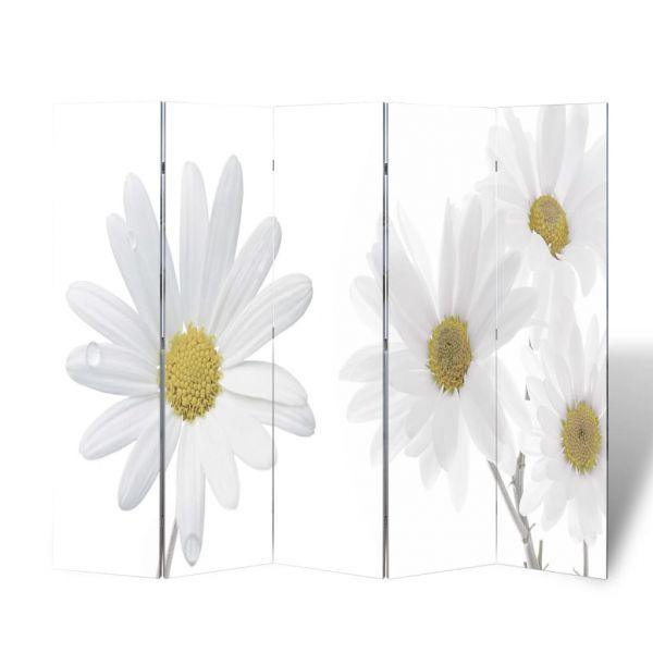 Zauberhafte Genoa Raumteiler klappbar 200 x 170 cm Blume