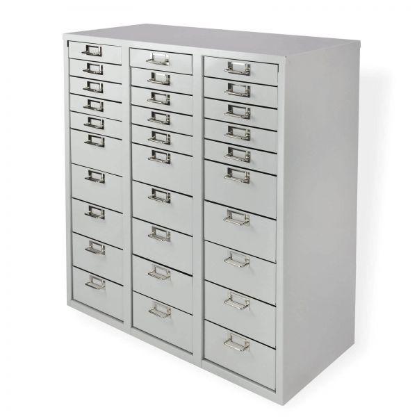 ADB Schubladencontainer / Schubladenschrank 30 Schubladen 860x790x365 mm