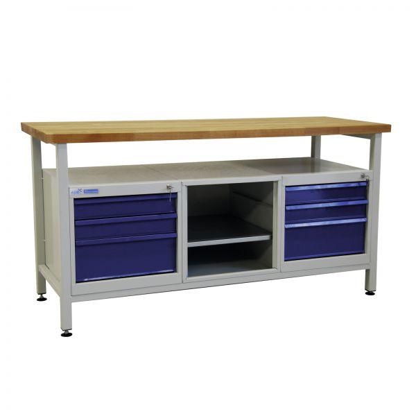 ADB Werkbank / Werkstatt Arbeitstisch mit 6 Schubladen