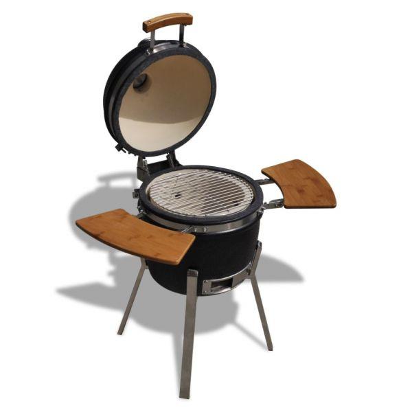 klassische Keramik Grill BBQ Smoker Keramikofen Holzkohlegrill