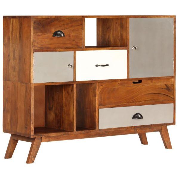 ausgezeichnete Telford Sideboard 115 x 35 x 86 cm Akazienholz Massiv