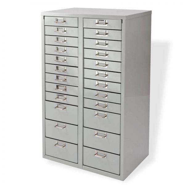 ADB Schubladencontainer / Schubladenschrank 24 Schubladen 860x530x365 mm