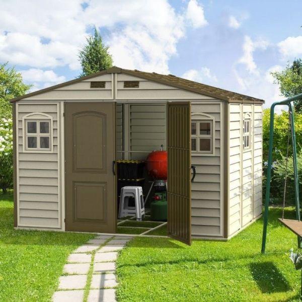 Gartenhaus WoodSide 10,5X8 Duramax Premier, 325 x 240 x 233 cm