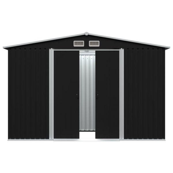 Geräteschuppen Metal Gartenhaus Torino 257 x 298 x 178 cm