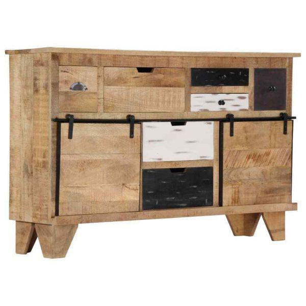 Sideboard aus Massivholz Vintage Industry Style