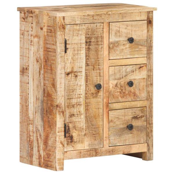 Wunderschöne Simmering Sideboard 59x35x75 cm Raues Mangoholz