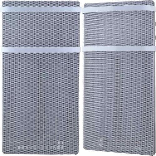Starke Kristianstad Wärmewellenheizung mit 2 Handtuchhaltern