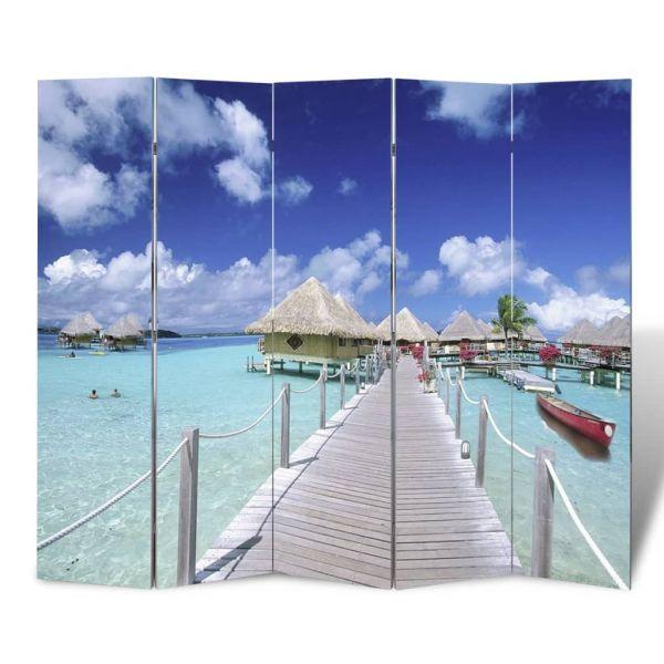 Fabelhafte Palermo Raumteiler klappbar 200 x 170 cm Strand