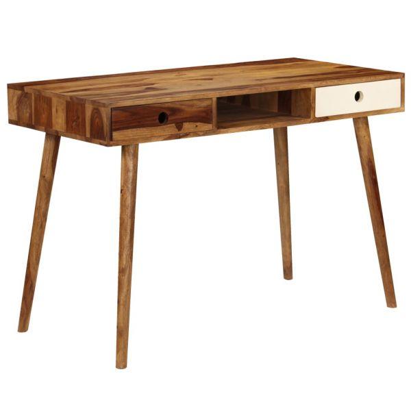 prachtvolle Schreibtisch 110 x 55 x 76 cm Massivholz Fuenlabrada