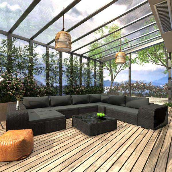 Schöne Lounge Gartenmöbel Sofagarnitur 'Bali'