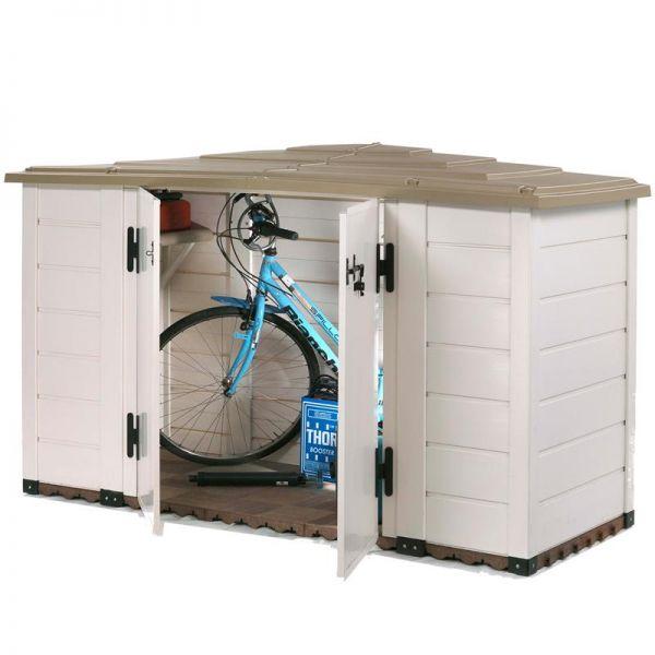 Garofalo Mülltonnenbox EVO LINE 200 Fhrradgarage Fahrradbox Kaufen BxTxH: 202,5x82,5x133 cm