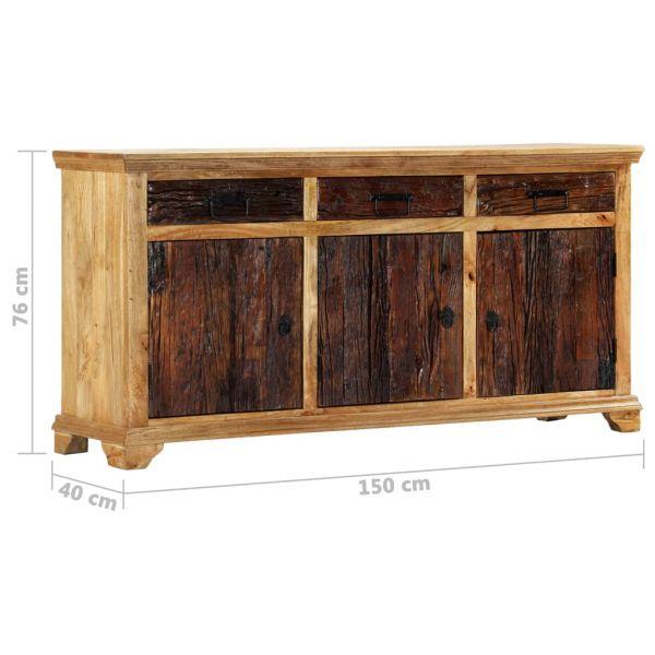 Sideboard 150 x 40 x 76 cm Massivholz Mango