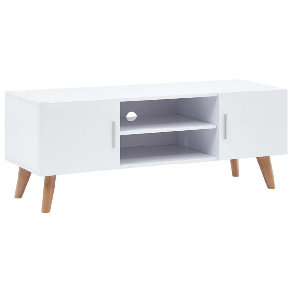 grandiose Lowestoft TV-Schrank Weiß 120 x 40 x 46 cm MDF
