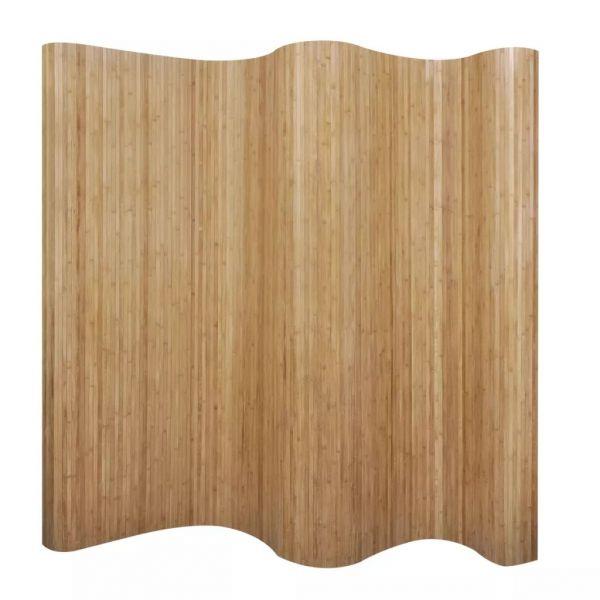 Wunderschöne Catania Raumteiler Bambus Natur 250x165 cm